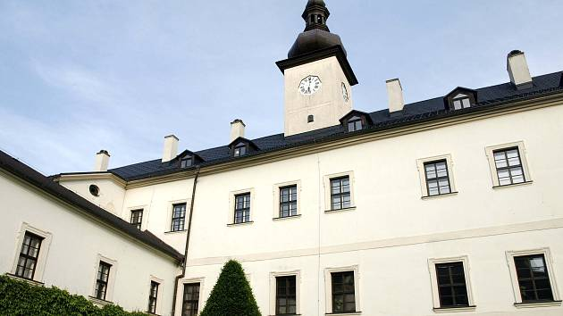 Zámek v Letohradu. Ilustrační foto.
