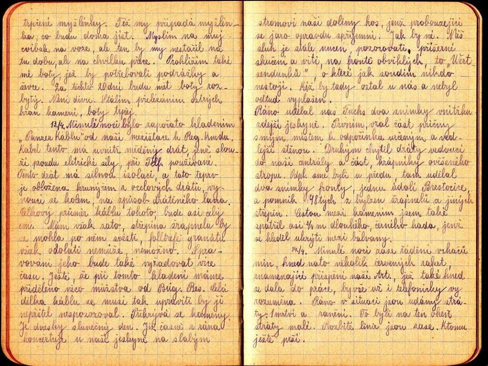 Deník Jana Buriana.
