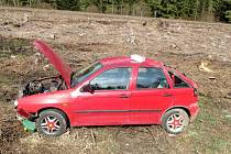 Dopravní nehoda na Králicku.