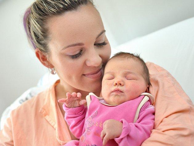 Štěpánka Cehová těší rodiče Natašu Schreiberovou a Lukáše Ceha z Lichkova. Když se 20. 6. ve 10.39 hodin narodila, vážila 3,75kg.