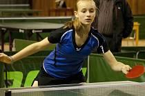 Stolní tenistka Bára Kapounová