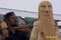 Dřevosochání v Sopotnici