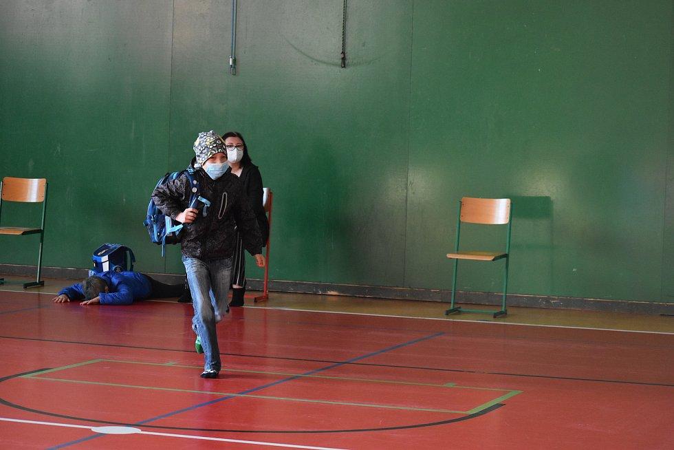 Do školy se dnes těšily také děti ze Základní školy Svatopluka Čecha v Chocni