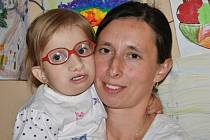 Jana Rejmanová s dcerou Klárkou.