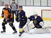 Krajská hokejová liga: HC Ledeč nad Sázavou - HC Spartak Choceň.