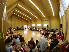 V Knapovci u Ústí nad Orlicí byla slavnostně otevřena nová multifunkční hala.