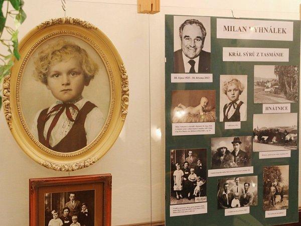 Zvýstavy oMilanu Vyhnálkovi vMěstském muzeu Ústí nad Orlicí.