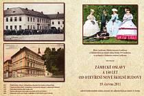 Zámecké oslavy a 150 let od otevření nové školní budovy.