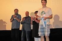 Jakub Brokl obhájil vítězství na celostátním finále soutěže neprofesionální filmové tvorby Zlaté slunce v Blansku.