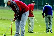 Další hřiště. Golfisté budou moci nyní trénovat nejen v Hnátnici (na snímku), ale také na novém hřišti v Dobříkově.
