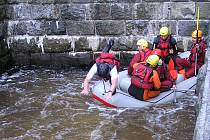 Záchranáři cvičili na Pastvinách.