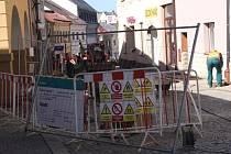 Rekonstrukce Hýblovy ulice v České Třebové