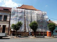Vila Marie se dočká nové fasády.
