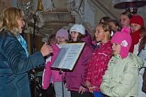 Adventní koncert v Orlickém Záhoří.