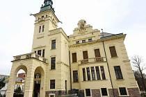 Hernychova vila v Ústí nad Orlicí.