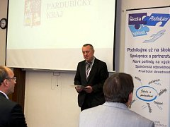 Konference se zúčastnil i krajský radní pro školství Bohumil Bernášek.