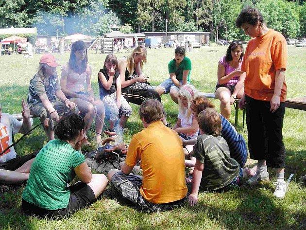 Do České Třebové přijely esperantské děti z Polska.