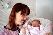 Kristýna Moláčková se narodila 14. 3. v 16.34 hodin Lucii z Chocně. Při narození vážila 3,600 kg.