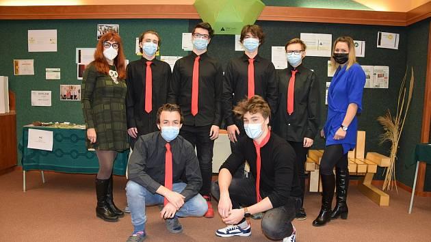 Kolektiv studentské firmy 3DPT.