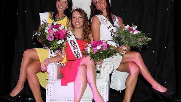Vítězky soutěže Missis aerobik&dance.
