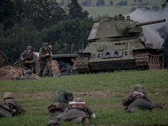 Vojensko - historická akce Cihelna 2017.