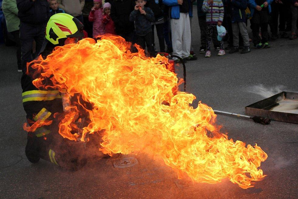 Hasiči v Chocni v pátek oslavili svátek svatého Floriána.