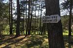 Památník a lesní hřbitov ve Vísce u Jevíčka