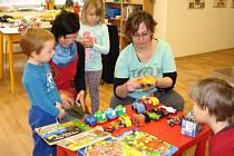 Dětské bleší trhy v Rodinném centru Rosa.