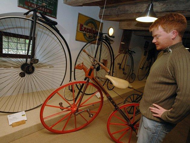 Z muzea cyklistiky.