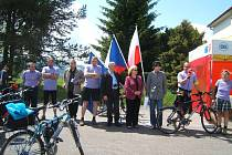 Devátý ročník propagační jízdy Cyklo Glacensis.