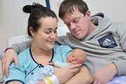 Dominik Fuglíček je prvním dítětem Ivety a Antonína z Lubníku. Na svět přišel 29. 1. ve 21.06 hodin, kdy vážil 2,75 kg.