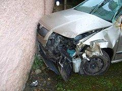 havárie osobního auta