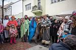 V Nádražní ulici v České Třebové se v neděli konaly vánoční trhy.
