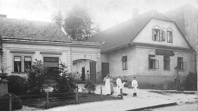 Hostinec Na Kopečku, počátek 20. století. Zdroj: Orlické muzeum Choceň
