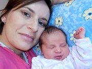 Barbora Slavíková se narodila 7. 1. v 2.01 hodin, kdy vážila 2890 g. Doma v Litomyšli bude těšit rodiče Lenku a Martina, i sestřičky Adélku a Kateřinu.