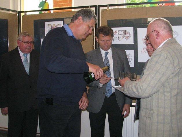 Z oslav 450. výročí narození Karla staršího ze Žerotína v Brandýse nad Orlicí.