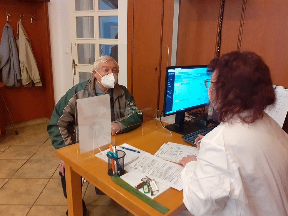 Registrace před očkováním