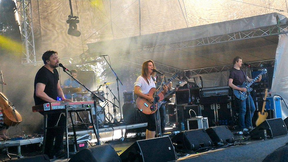 Aneta Langerová na JamRocku v Žamberku.