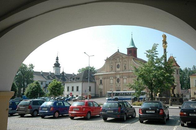 Náměstí v Letohradě