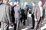 Ve druhém dni své návštěvy prezident Miloš Zeman navštívil Žamberk, Vojenskou pevnostní oblast v Králíkách a Jablonné nad Orlicí.