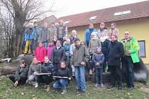 Návštěva žáků ZŠ Ústí nad Orlicí, Třebovská a žáků polské partnerské školy z Bystřice Kladské v ekocentru Paleta v Oucmanicích.