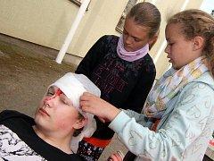 V Ústí nad Orlicí na Kociánce se konalo oblastní kolo soutěže mladých zdravotníků.