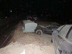 Dopravní nehoda u Jablonného n. O.