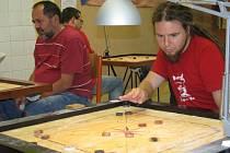 Jeden ze tří mistrovských turnajů v carromu se uskutečnil v Letohradu.