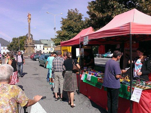 Farmářské trhy v Letohradu.