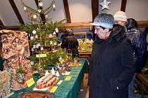 Vánoční výstava betlémů a dekorací v letohradském Muzeu řemesel.