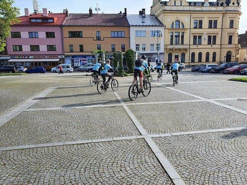 Cyklistické akce zúčastnili také nadšenci z Vysokého Mýta: Zdroj: Vysoké Mýto
