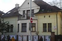 Budova ústeckého stacionáře.