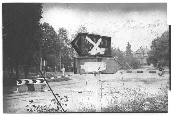 Srpen 1968na Vysokomýtsku.