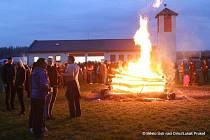 Letošní pálení čarodějnic bylo v Ústí nad Orlicí pojato netradičně.